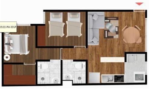 (crm-5571-2469)  departamento en venta - residencial orinoco -ph5