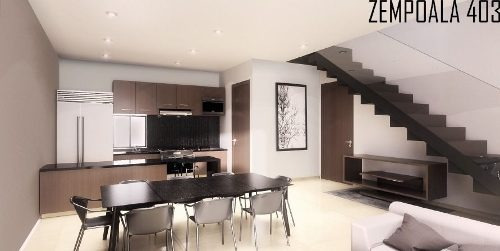 (crm-5571-2499)  departamento en venta - zempoala 403 - ph03