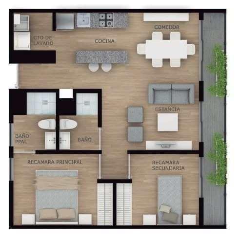 (crm-5571-2526)  departamento en venta - elábita - 213