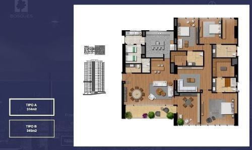 (crm-5571-2539)  club residencial bosques - torre d3001