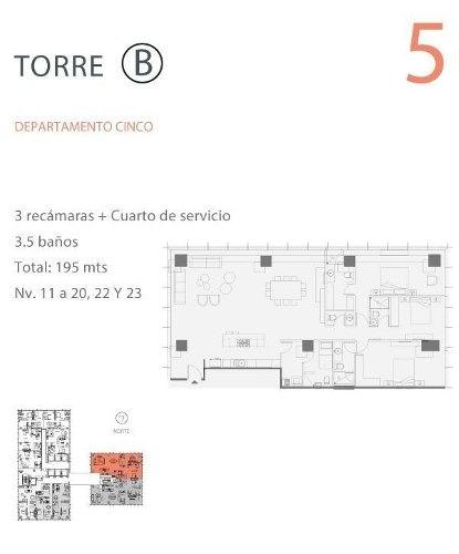 (crm-5571-2813)  departamento en venta - paradox - 3005