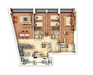 (crm-5571-2868)  departamento en venta --desierto 4373 - 501