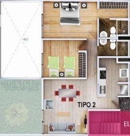(crm-5571-2898)  departamento en venta - brezo querétaro - 302