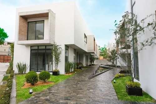 (crm-5571-2909)  casa en venta - brezo desierto de los leones - casa 9