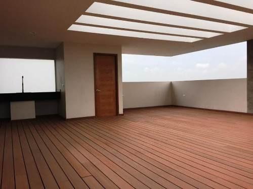 (crm-559-518)  penthouse en venta a una cuadra de vía atlixcáyotl