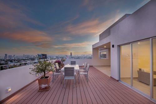 (crm-559-544)  penthouse  en venta detrás de telmex  25 pte.