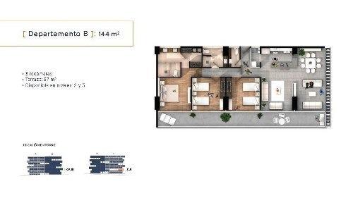 (crm-559-566)  departamento en venta zona angelopolis, puebla
