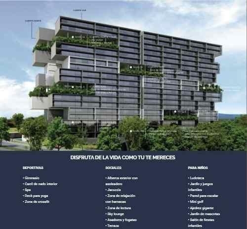 (crm-559-571)  departamento en pre-venta lomas de angelópolis - cascatta
