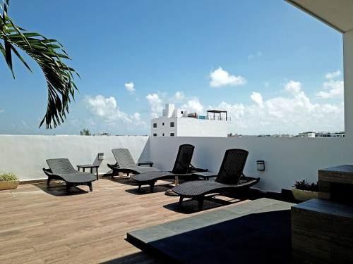 (crm-5832-100)  departamento playa del carmen vedra inversión segura