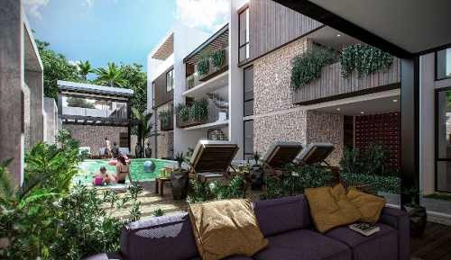 (crm-5832-23)  departamento tulum ¨condo marea¨ exclusivo lujo inversion
