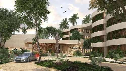 (crm-5832-42)   departamento anah tulum hunab excelente desarrollo plusvalía