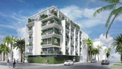(crm-5832-60)   departamento zulim 34 centro de playa del carmen sustentable