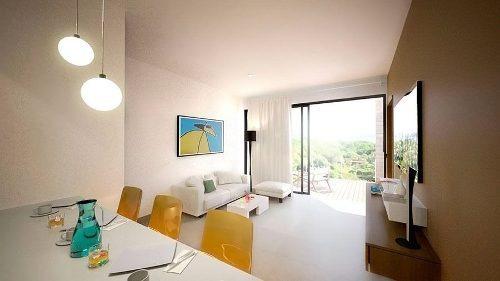 (crm-5832-7)  departamento playa del carmen the gallery buena inversión