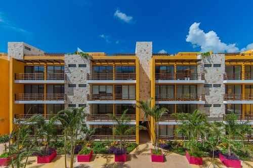 (crm-5832-72)   departamento playa del carmen lunada increíble lujo amplio