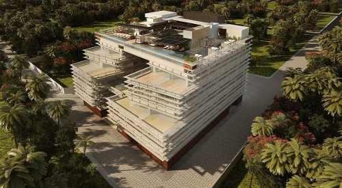 (crm-5832-78)  departamento playa del carmen singular dream inversión lujo