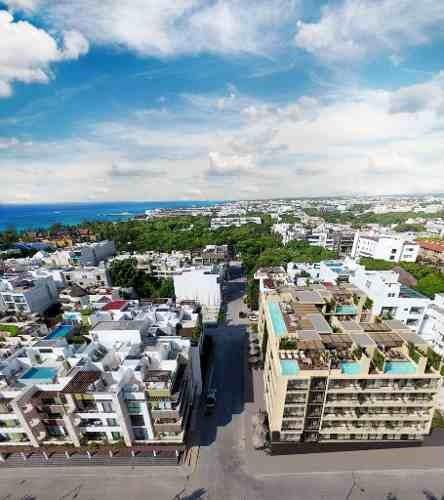 (crm-5832-8)  departamento the shore playa del carmen excelente inversión