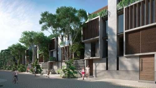(crm-5832-86)  venta casa tulum agua y miel desarrollo super lujosa