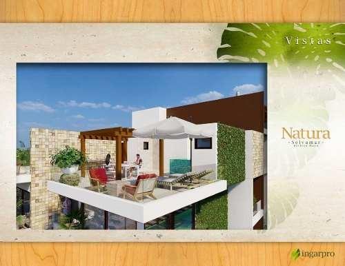 (crm-5832-94)  departamento playa del carmen natura selvamar excelente zona