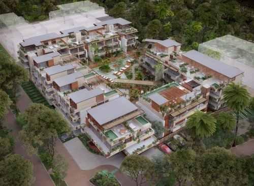 (crm-5832-98)   departamento tulum copal aldea zama lujo y plusvaía venta