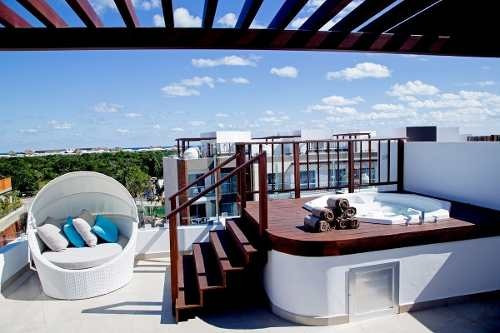 (crm-60-1339)  departamento en venta playa del carmen en the fives