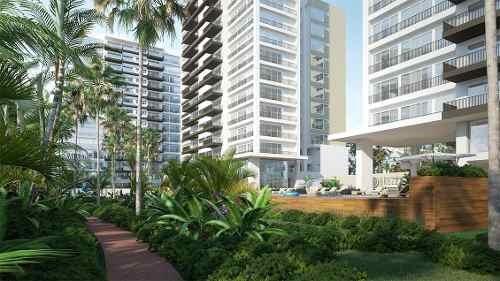 (crm-60-1347)  departamentos en venta cancun en brezza tower zona centro