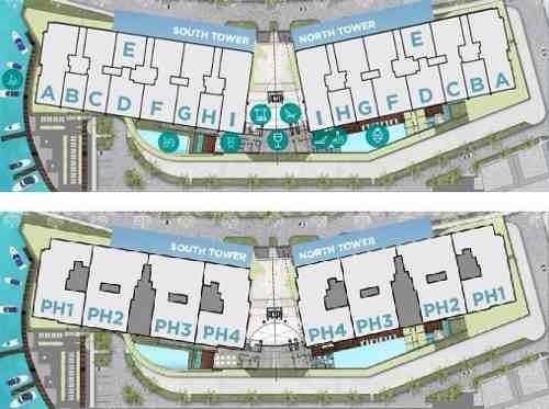 (crm-60-1404)  departamento en venta allure puerto cancún