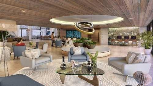 (crm-60-1408)  departamento venta cancún en allure puerto cancún