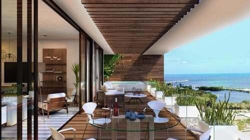 (crm-60-1410)  departamento en venta en allure puerto cancún