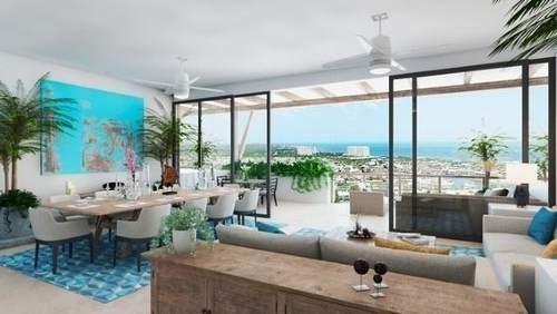 (crm-60-1489)  departamento residencial kaanali en venta en puerto cancún