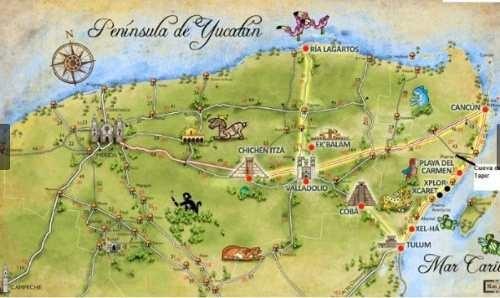 (crm-60-1501)  terreno en la ruta de los cenotes