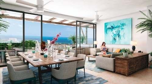 (crm-60-1507)  departamento residencial kaanali en venta en puerto cancún