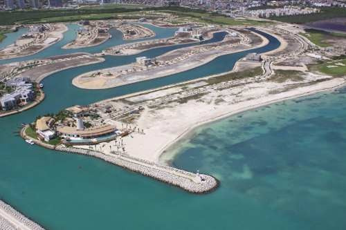 (crm-60-181)  lote residencial vista campo de golf en puerto cancún