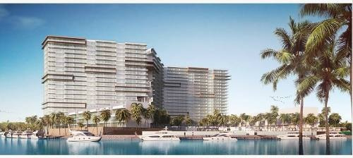(crm-60-1937)  departamento en venta puerto cancún desarrollo marea