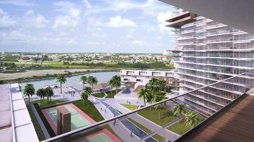 (crm-60-1941)  departamento en venta puerto cancún desarrollo marea