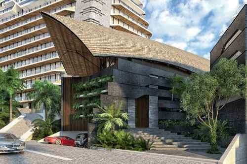 (crm-60-2041)  departamento en pre-venta puerto cancun shark tower