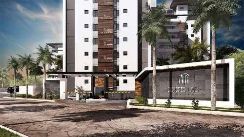 (crm-60-2129)  departamento venta cancún en cumbres towers