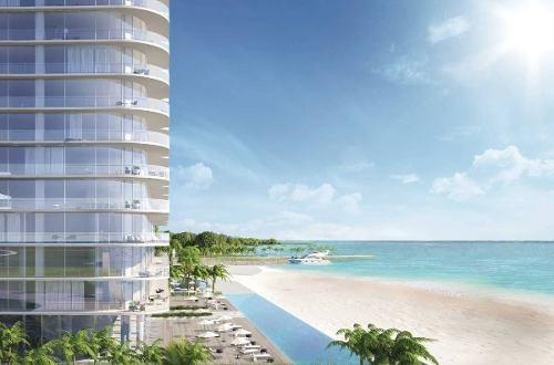(crm-60-2223)  departamento de lujo en pre-venta en sls harbour beach cancún