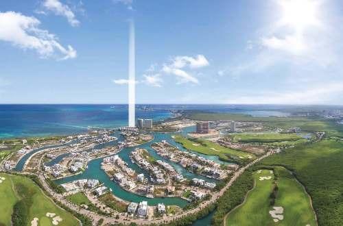 (crm-60-2230)  pre venta departamento de lujo en puerto cancún sls harbour beach