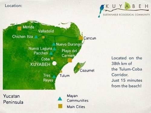 (crm-60-286)  preventa terreno en kuyabeh comunidad ecologica autosustentable de 9,400 m2