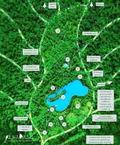 (crm-60-287)  preventa terreno en kuyabeh comunidad ecologica autosustentable de 12,000 m2