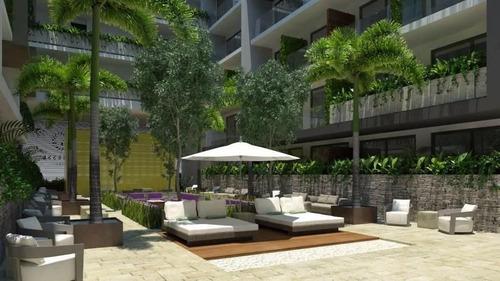 (crm-60-296)  departamento en venta playa del carmen en menesse the city