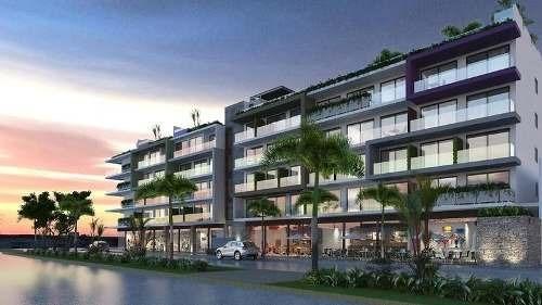 (crm-60-299)  departamento en venta playa del carmen en menesse the city