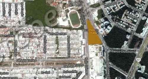 (crm-60-418)  excelente oportunidad terreno sobre la avenida kabah en esquina