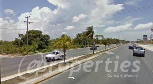 (crm-60-421)  terreno sobre el boulevard luis donaldo colosio junto a villa magna