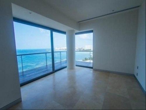 (crm-60-456)  venta departamentos naima cancun frente al mar primer piso