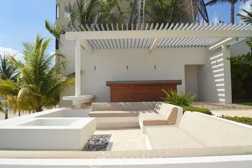 (crm-60-480)  departamento en venta frente al mar en cancún en naima