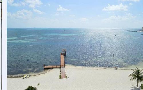 (crm-60-492)  venta departamento penthouse naima cancun frente al mar