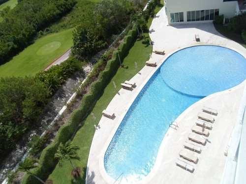 (crm-634-571)  departamento en renta en puerto cancún residencial isola