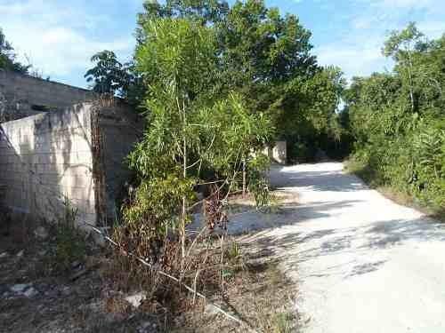 (crm-634-600)  se vende terreno en cancún de 4,900 m2 en bosques del caribe