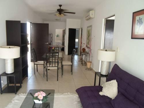 (crm-634-618)  se renta departamento en cancun residencial vita residenze